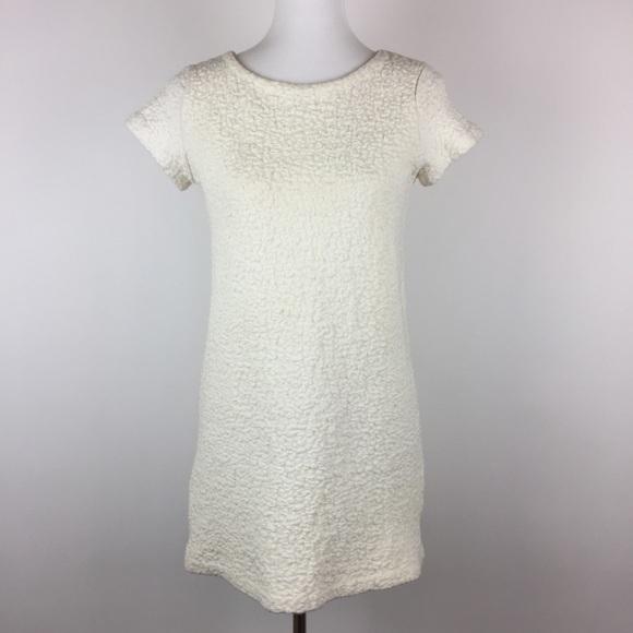 5439699b Zara Sweaters | Knit Sweater Tunic Size M Stretch Ivory | Poshmark